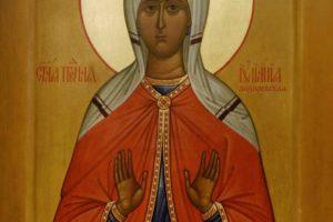 Память праведной Иулиании Лазаревской, Муромской