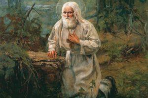 «МУЖИК В БЕЛОМ ХОЛЩОВОМ ХАЛАТЕ ДО ПЯТ И В ЛАПТЯХ» О явлениях и помощи преподобного Серафима Саровского в наши дни