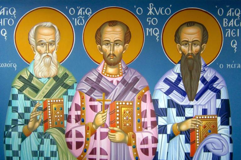 11 января в храм святителя Василия Великого в Витебске прибудут мощи трёх святителей для поклонения верующих