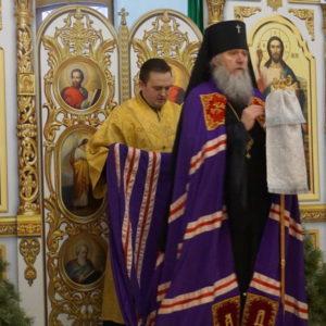В день празднования памяти прп.Серафима Саровского архиепископ Димитрий возглавил Божественную литургию в храме св.Ирины