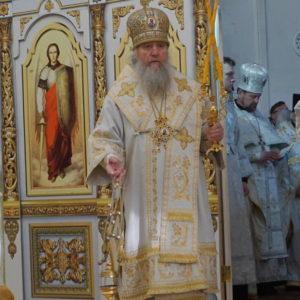 23 января в день празднования памяти святителя Феофана Затворника архиепископ Витебский и Оршанский Димитрий возглавил Божественную литургию в храме святой Ирины.