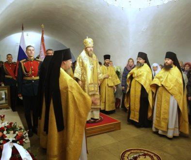 В Новоспасском монастыре почтили память великого князя Сергея Александровича