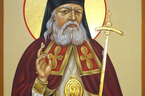 График пребывания иконы святителя Луки Войно-Ясенецкого с частицей мощей в Витебской епархии с 21 февраля по 17 марта