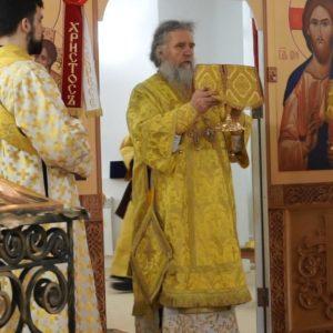 В день празднования памяти Новомучеников и Исповедников Церкви Русской архиепископ Димитрий возглавил Божественную литургию в храме св.Ирины