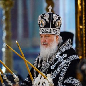 Патриарх Кирилл возглавит первую в этом году Литургию Преждеосвященных Даров в Свято-Троицкой Сергиевой Лавре