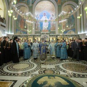 14 марта Святейший Патриарх Кирилл возглавит вечернее богослужение в Сретенском монастыре