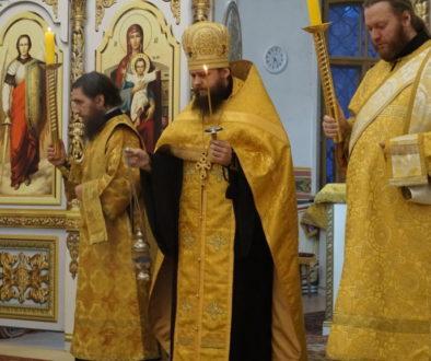 В канун Недели 1-й Великого поста, Торжества Православия, архимандрит Сергий (Брич) возглавил всенощное бдение в храме св.Ирины