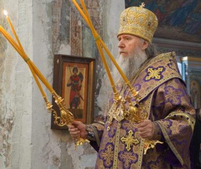 В Неделю свт.Григория Паламы архиепископ Димитрий возглавил Божественную литургию в храме св.Ирины