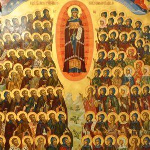 9 марта. Память всех отцев и матерей, в подвиге поста и молитвы просиявших