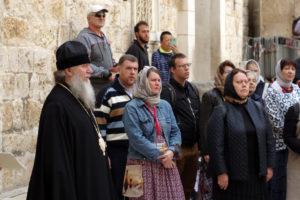 Архиепископ Димитрий совершает паломничество на Святую землю
