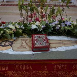 Вынос Плащаницы и чин погребения Господа нашего Иисуса Христа в храме святой великомученицы Ирины