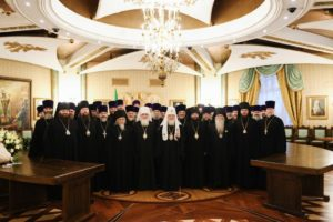 В Храме Христа Спасителя состоялся прием по случаю тезоименитства Святейшего Патриарха Кирилла