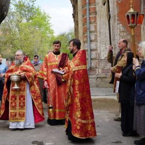 Пяток Светлой седмицы в храме святой великомученицы Ирины