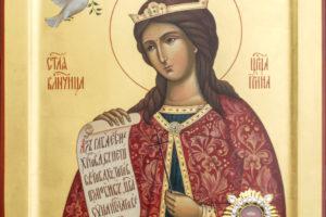 18 мая- престольный праздник храма святой великомученицы Ирины