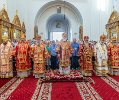 Архиепископ Димитрий принял участие в торжествах по случаю дня памяти святой преподобной Евфросинии Полоцкой