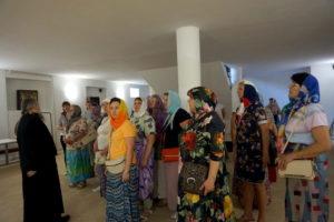 Паломничекая группа из Беларуси посетила храм великомученицы Ирины