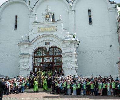 Архиепископ Витебский и Оршанский Димитрий принял участие в в престольном празднике Троице-Сергиевой лавры