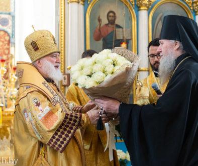 Архиепископ Димитрий сослужил Патриаршему Экзарху Всея Беларуси митрополиту Павлу в праздник апостолов Петра и Павла