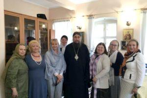 Божественная литургия архиерейским чином и собрание Союза Православных женщин г.Москвы