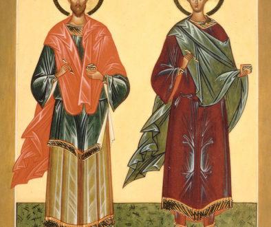 День памяти святых бессребреников мучеников Космы и Дамиана, в Риме пострадавших