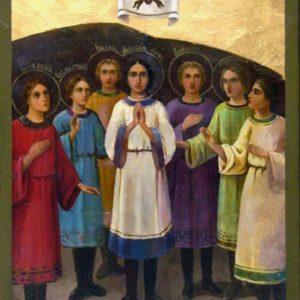 17 августа. Семь святых Ефесских отроков