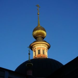 Осень в храме великомученицы Ирины