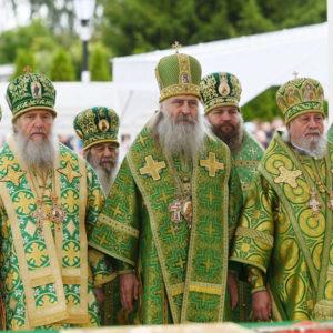 Архиепископ Димитрий принял участие в Божественной литургии в Серафимо-Дивеевском монастыре в день памяти преподобного Серафима Саровского