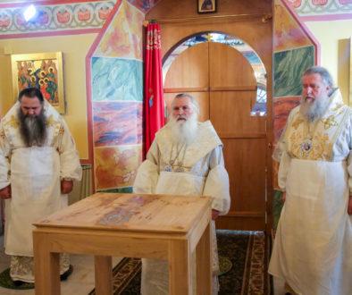 Архиепископ Витебский и Оршанский Димитрий принял участие в освящении храма в честь иконы Пресвятой Богородицы «Нечаянная Радость» в Нижнем Новгороде