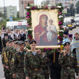 18 сентября в городеОрше (Витебской епархии)состоится ежегодный крестный ход в честь дня памяти Оршанской иконы Божией Матери