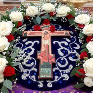 Праздник Воздвижения Креста Господня в храме великомученицы Ирины г.Москвы