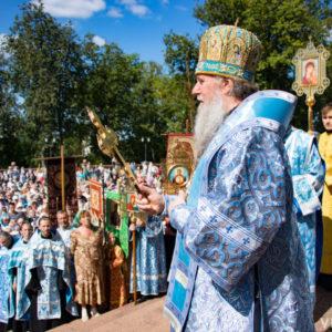 Архиепископ Витебский и Оршанский Димитрий возглавил торжества в честь Успения Божией Матери, прошедшие в Витебске
