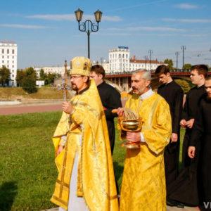 В храме святого благоверного князя Александра Невского г.Витебска торжественно отметили престольный праздник