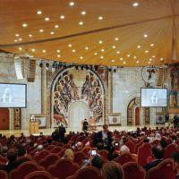 Святейший Патриарх Кирилл возглавил церемонию открытия II Международного съезда регентов и певчих