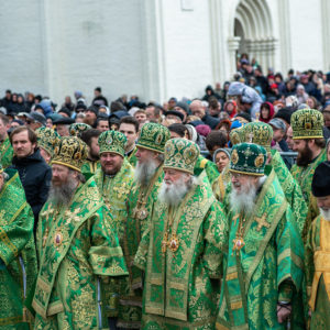 Архиепископ Витебский и Оршанский Димитрий принял участие в торжествах в честь преставления преподобного Сергия Радонежского, прошедших в Троице-Сергиевой лавре