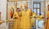В Неделю 16-ю по Пятидесятнице архиепископ Витебский и Оршанский Димитрий совершил Литургию в храме великомученицы Ирины
