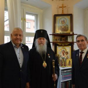 Архиепископ Витебский и Оршанский Димитрий возглавил заседание Попечительского совета храма великомученицы Ирины