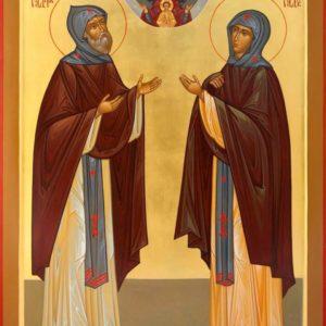 11 сентября. Прпп. схимонах Кирилл и схимонахиня Мария, родители прп. Сергия Радонежского
