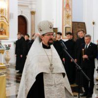 В Свято-Успенском кафедральном соборе г.Витебска прошла международная акция «Во славу общей Победы!»