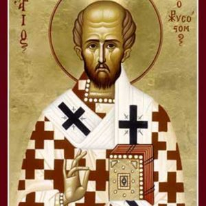 Проповедь, сказанная в день памяти святителя Иоанна Златоуста