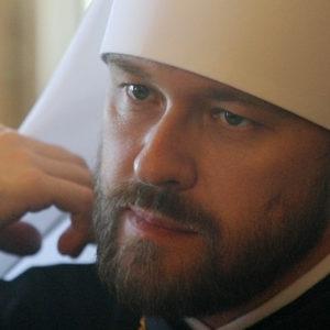 Митрополит Волоколамский Иларион: Архиепископ Афинский Иероним вычеркнут из диптихов Русской Церкви