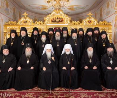 Архиепископ Витебский и Оршанский Димитрий принял участие в очередном заседании Синода Белорусской Православной Церкви