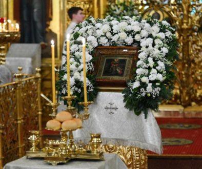 В канун праздника Крещения Господня Святейший Патриарх Кирилл совершил всенощное бдение в Богоявленском соборе