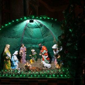 Празднование Рождества Христова в храме великомученицы Ирины