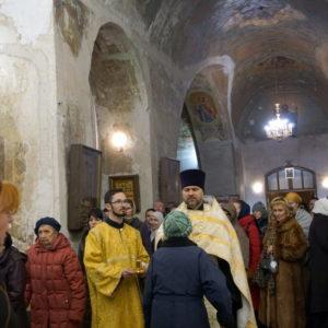 Праздник Крещения Господня в храме великомученицы Ирины