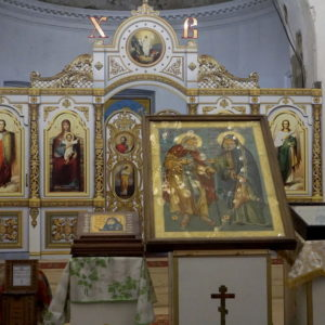Пребывание чудотворной иконы «Дружба русского и грузинского православных народов» в храме великомученицы Ирины