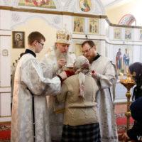 Архиепископ Димитрий совершил Литургию в храме святых Кирилла и Мефодия, после чего принял участие в собрании областного объединения православных женщин