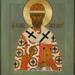 Слово в день памяти святителя Филиппа, митрополита Московского и всея Руси чудотворца