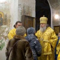 В канун Недели о мытаре и фарисее архиепископ Витебский и Оршанский Димитрий совершил всенощное бдение в храме великомученицы Ирины г.Москвы