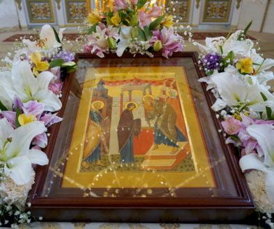Праздник Сретения Господня в храме великомученицы Ирины г.Москвы
