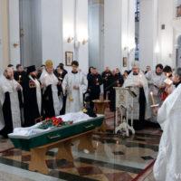 В кафедральном соборе города Витебска состоялось отпевание монаха Серафима (Тарамыкина)